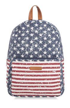 Primark - Mochila de la bandera de EE. UU.