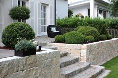 Steintreppe Garten stein treppe und pflanzen im garten moderne haus geastaltung 53
