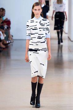 Jil Sander Spring 2015. See the best runway looks from Milan Fashion Week here.