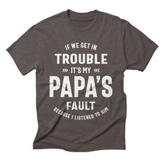 Best Dad Gifts, Daddy Gifts, Grandpa Gifts, Gifts For Father, Fathers, Funny Dad Shirts, Dad To Be Shirts, Family Shirts, Funny Job Titles
