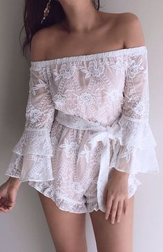 Chiffon Boutique has created a platform for NZ and people all over the world to purchase items online. Our vision is to bring you the latest trends straight from the runways Women Clothing Stores Online, White Playsuit, Off Shoulder Blouse, Latest Trends, Anna, Runway, Chiffon, Platform, Boutique
