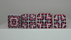 Polymer Clay Canes Red, Black & White | Flickr - Photo Sharing!