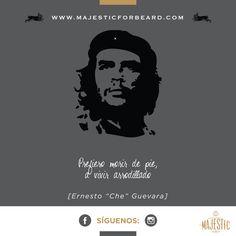 Nosotros como el Che, Excelente miércoles #Majesticforbeard #Barbamajestuosa