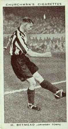 Harry Betmead of Grimsby Town in 1938.