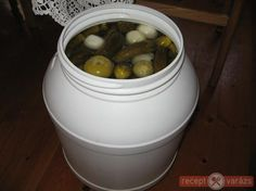 Canning Pickles, Pickling Cucumbers, Canning Recipes, Preserves, Salads, Paleo, Fruit, Food, Garden
