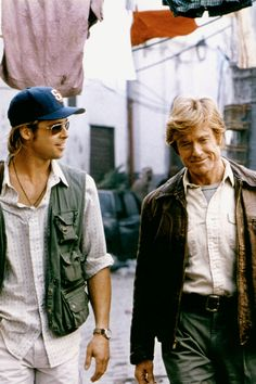 He's bros with Robert Redford.