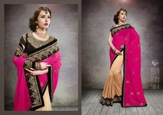 Saheli Couture Indian Sarees Fashion Designs 2014 15 for Women 4 Saheli Couture Indian Sarees Fashion Designs 2014 15 for Women