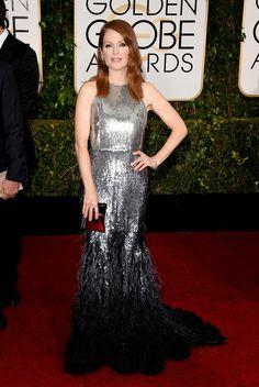 Les plus beaux look de la 72ième cérémonie des Golden Globe Awards...