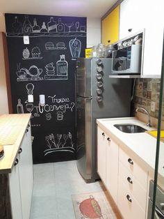 tafelwand in der k che tags k che und bilder ideen. Black Bedroom Furniture Sets. Home Design Ideas