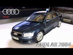 Miniatura Audi A8 2004 Motormax 1/18