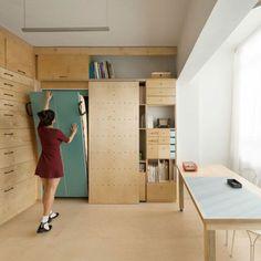 meubles pliants dans la chambre à coucher moderne, lit pliant en bpis, lit d'appoint pliant
