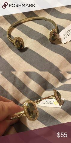 Kendra Scott pyrite bracelet.  Nwt New with tag Kendra Scott pyrite bracelet. With bag Kendra Scott Jewelry Bracelets