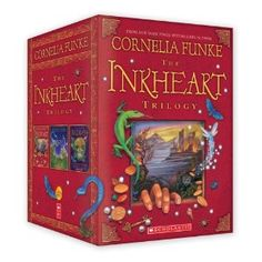 The Inkheart Trilogy, just started to read the first one. love it!