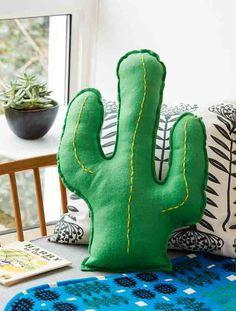 How to make a cactus cushion - goodtoknow