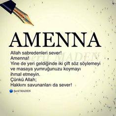 🚶🏻♂️ Sabret ama yeri geldiğinde hakkını da savun! __👉 @serifmaden __👉 @serifmaden __👉 @serifmaden __✏__📚__🍀__ __________________ Sevgili… Best Love Messages, Turkish Language, I Love You, My Love, Allah Islam, Sufi, Meaningful Words, Loneliness, Karma