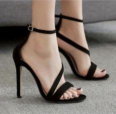 2cbd76015ea2 Snake Print Peep Toe Fashion Women Ankle Strap High Heels Shoes Ankle Strap  High Heels