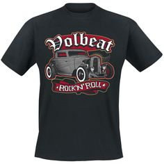 "Volbeat T-Shirt ""Rock'N'Roll"" schwarz • EMP"