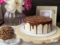 Pruhovaný Míša dort - Víkendové pečení