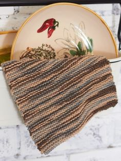 Back to Basics Dishcloth | Yarn | Free Knitting Patterns | Crochet Patterns | Yarnspirations