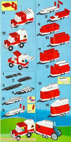 LEGO 6359 Horse Trailer Set Parts Inventory and Instructions - LEGO Reference Guide