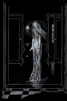Alberto Martini - Edgar Allan Poe Illustration