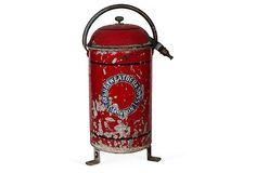 Antique Fire Extinguisher on OneKingsLane.com
