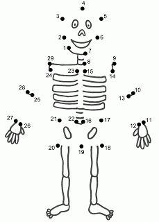 Halloween dot to do activity sheet for parties or favor bags or for a classroom activity