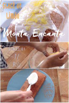 Como preparar aquela cobertura durinha de açúcar.. Glacê de açúcar e limão!!!
