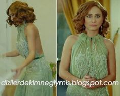 Merhamet - Deniz (Burçin Terzioğlu), Green Dress