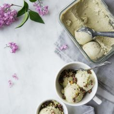 """Pistachio Ice Cream + Chocolate Cake Crumble from """"N'Ice Cream"""" (+ Giveaway!)"""