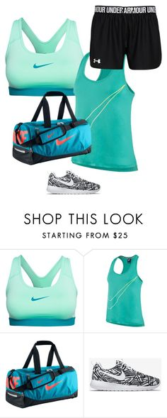 """""""workout outfit"""" by chloefaust on Polyvore featuring NIKE"""