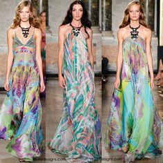DORLY DESIGNS: Milan Fashion Week: Emilio Pucci RTW Spring Summer 2015
