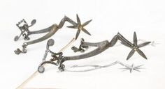 17th Century French Cavalier Spurs