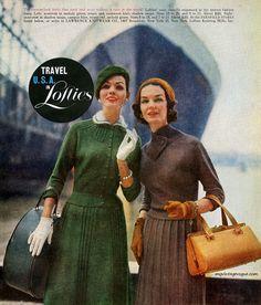 Travel in Lofties 1957