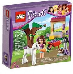 Buy LEGO Friends Olivia's Newborn Foal from our Construction Toys range at John Lewis & Partners. Legos, Lego For Sale, Lego Friends Sets, Friends Girls, Best Lego Sets, Buy Lego, Shop Lego, Baby Alive, Thing 1