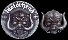 """Motorhead plaque made for freinds..12"""" round."""