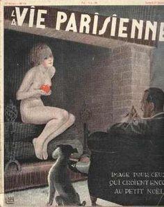 Georges Léonnec (1881 – 1940). La Vie Parisienne, 22 Décembre 1934. [Pinned 23-vii-2015]