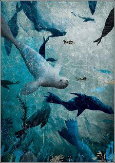 Rudyard Kipling. El libro de la Selva. SextoPiso, 2013. ISBN: 9788415601180. Illustrator Gabriel Pacheco.