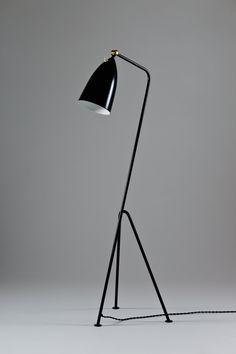 Vintage Grasshopper Floor Lamp by Greta Magnusson Grossman for sale at Pamono