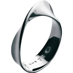 """I love this. """"Inner and outer beauty come together"""" Georg Jensen - MÖBIUS ring - sterling silver"""