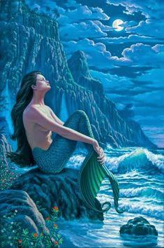 UMBANDA EM PAZ...: Cabocla Janaína: a sereia do mar...