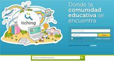 Tiching es una interesante comunidad que ofrece de manera gratuita el acceso a miles de recursos educativos que pueden ser descargados y utilizados libremente.