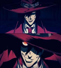 Day three: Alucard from Hellsing Ultimate. Alucard is just...freaking awesome. This ^ This is one badass vampire show, and it's one of my top ten all time favorite animes (Ultimate only). If you don't mind gore or language (the most of the two you'll see only in episode two) I highly, highly, HIGHLY recommend this show.