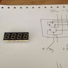 I salvaged this 3 segment led display from an old satellite decoder. Just mapped the pins with my Volt meter as I cant find no data sheet on it. It's a (SEL-3494G) #led #display #arduino #parts #segment #digit #circuit #sel3494g by hydromadman