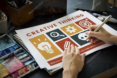 Creative designer working - Stock Photo , #AFFILIATE, #designer, #Creative, #working, #Photo #AD Thinking Photos, Creative Thinking, Photographers Near Me, Photo Library, Creative Design, Presents, Concept, Stock Photos, Drawings