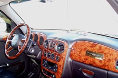 Burlwood interior