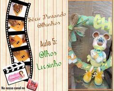 Krika.com - Série Pintando Olhinhos - Aula 5 Ursinho