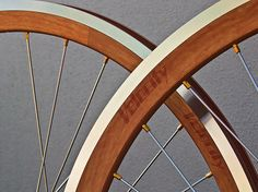Velocity Woodgrain Bicycle Rims