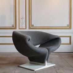 "Artifort ""Ribbon"" Chair by Pierre Paulin, France, Circa 1966"