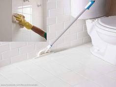DICA para facilitar a limpeza de azulejos, pisos e rejuntes